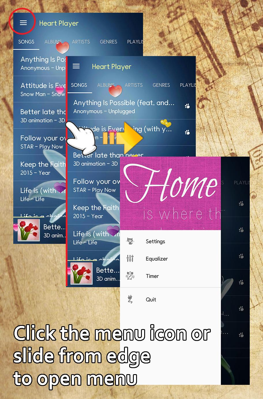 Music Player My Photo Heart for Android - APK Download