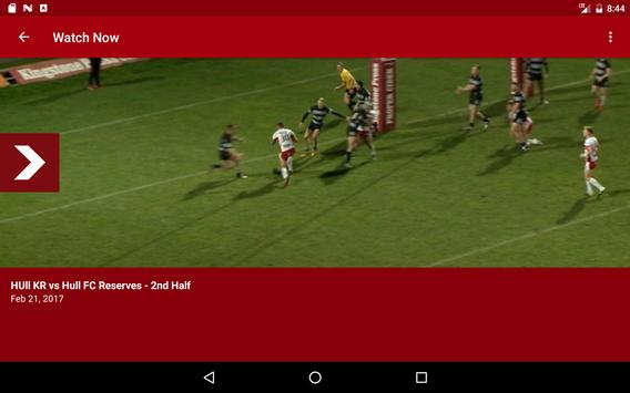 Hull KR TV screenshot 5