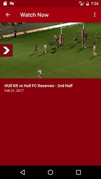Hull KR TV screenshot 1