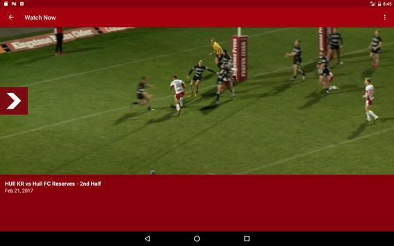 Hull KR TV screenshot 3