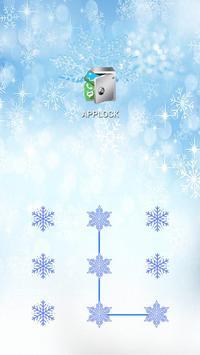 AppLock Theme Winter screenshot 1