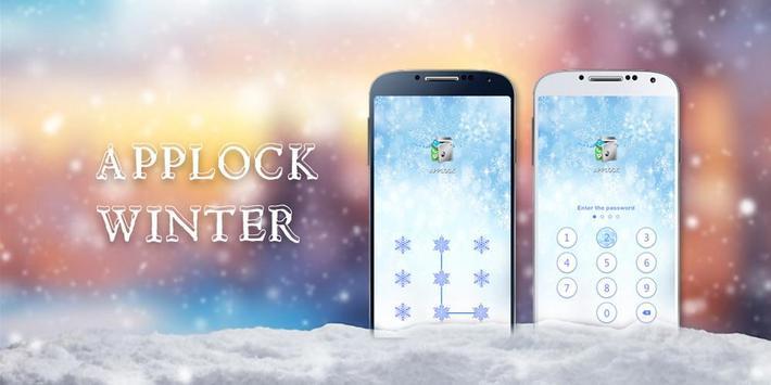 AppLock Theme Winter screenshot 3