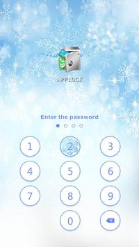 AppLock Theme Winter screenshot 4
