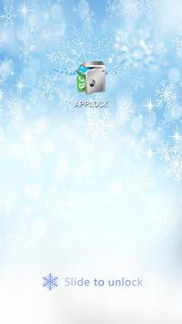 AppLock Theme Winter screenshot 6