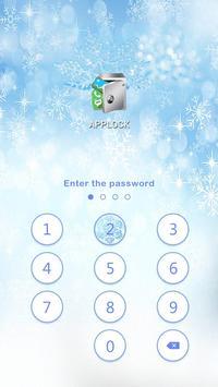 AppLock Theme Winter screenshot 8