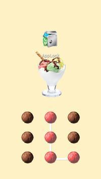AppLock Theme Ice Cream poster