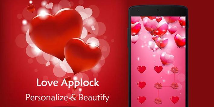 AppLock Theme Sweet Love screenshot 7