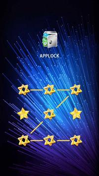 AppLock Theme Blue Dream apk screenshot