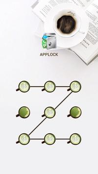 AppLock Theme Coffee Time poster