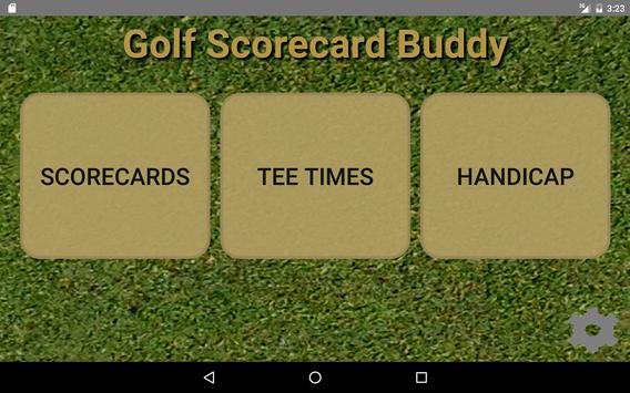 Golf Scorecard Buddy screenshot 10