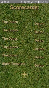 Golf Scorecard Buddy screenshot 3