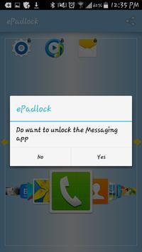 ePadlock apk screenshot