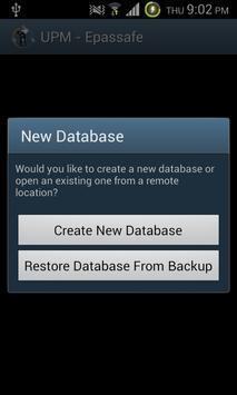 Epassafe Password Manager screenshot 1