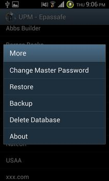 Epassafe Password Manager screenshot 2