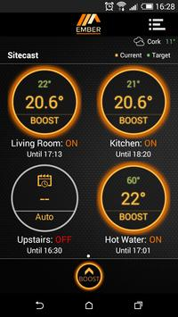 EMBER Smart Heating Control poster