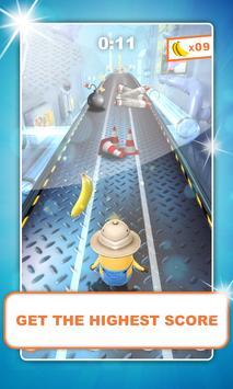 Subway Minion Banana Rush 3D apk screenshot