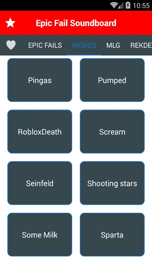 Soundboard For Epic Fail Button - Funny Sounds FX for Android - APK