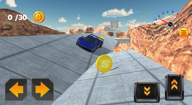 Stunt Speed Cars 3D screenshot 1