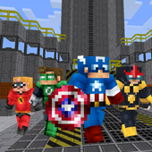 New Super Heroes Mod for MCPE icon