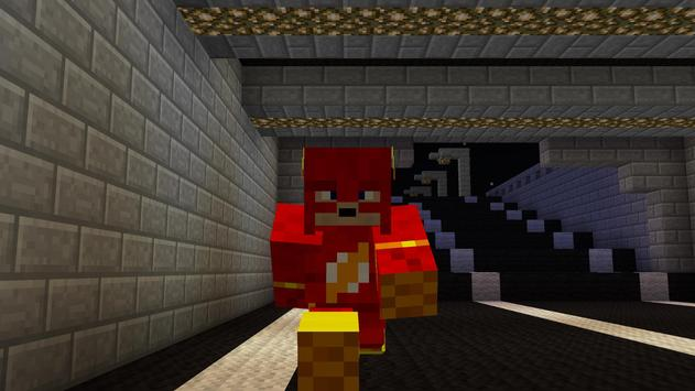 New Super Heroes Mod for MCPE poster
