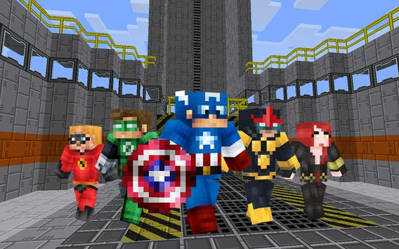New Super Heroes Mod screenshot 2