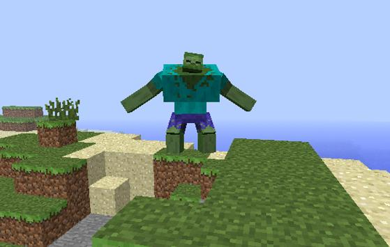 The Powerful Green Man Mod for MCPE poster
