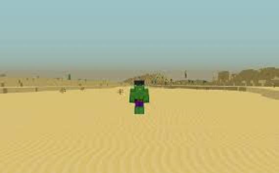 The Powerful Green Man Mod for MCPE apk screenshot
