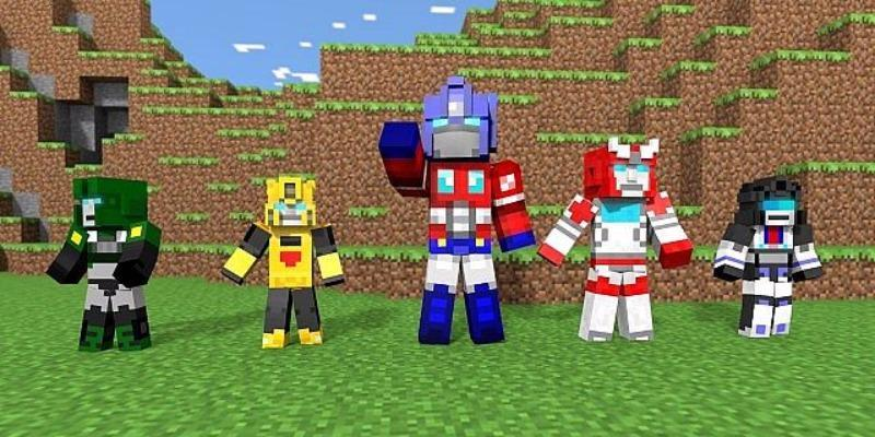 Strongest Transformers Mod for MCPE for Android - APK Download