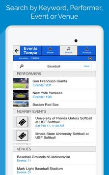 Events Tampa apk screenshot