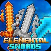 Mod Elemental Swords 2018 for MCPE icon