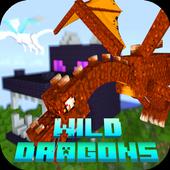 Mod Wild Dragons 2018 for MCPE icon