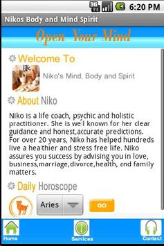 Niko's Body And Spirit poster
