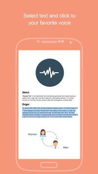 Human Voice Reader screenshot 2