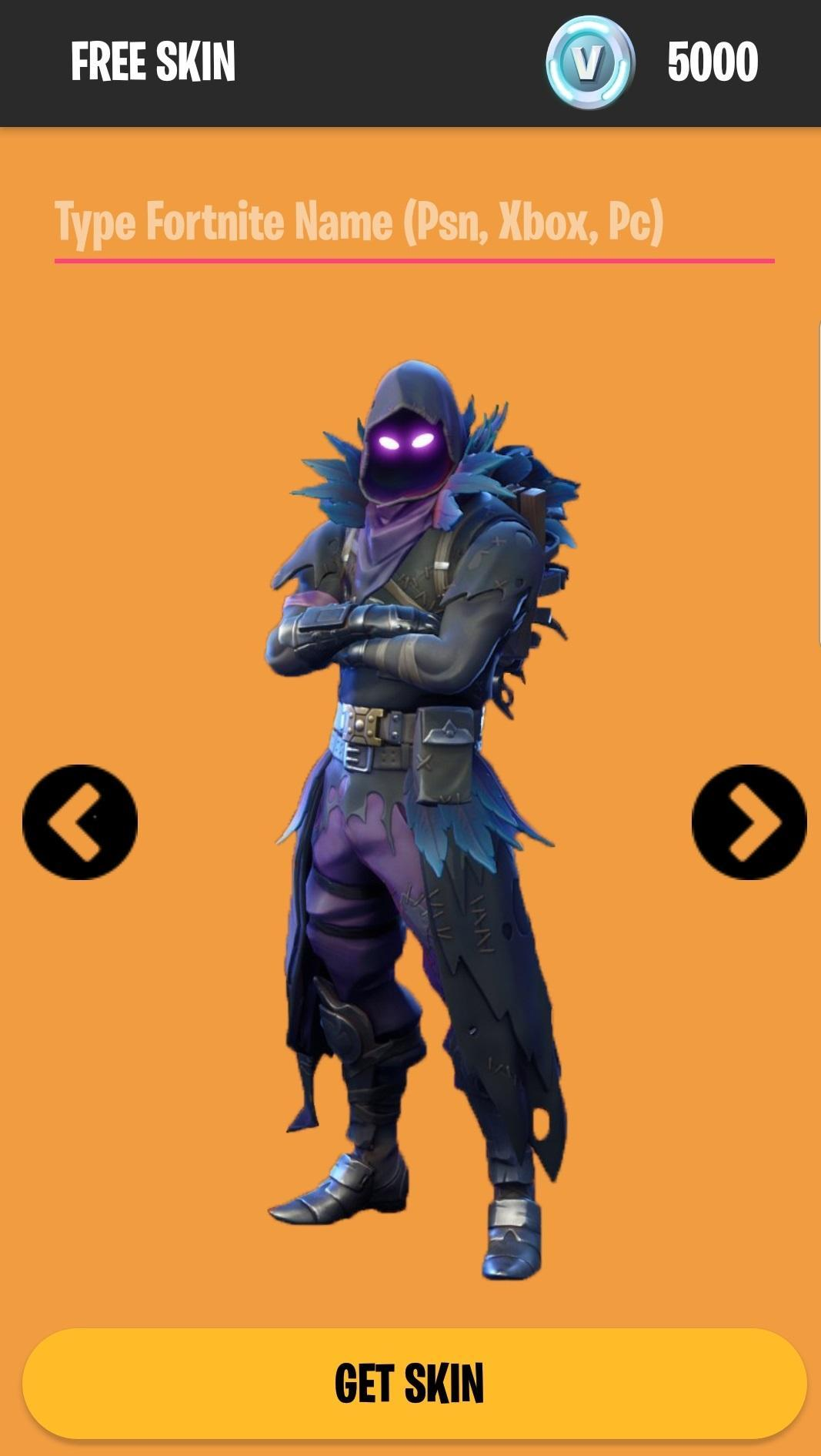 Fortnite Free Skins for Android - APK Download