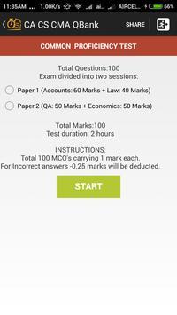 CA CS CMA QBank apk screenshot