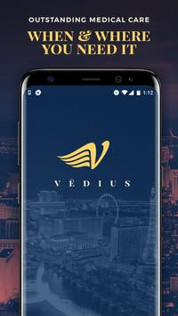 Vēdius: On-Demand Medical Care poster