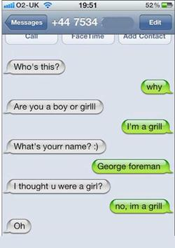 Funny Text SMS Messages poster