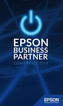 Epson Business Partner Conference 2018 Plakat