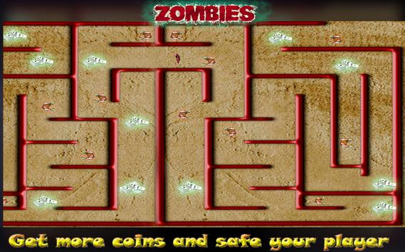 Zombie Maze Runner Escape screenshot 13