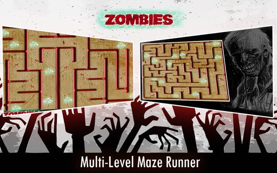 Zombie Maze Runner Escape apk screenshot