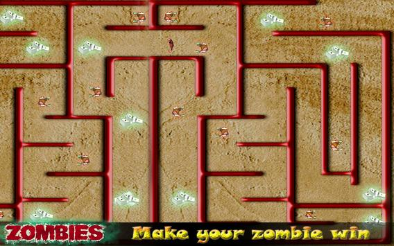 Zombie Maze Runner Escape screenshot 1