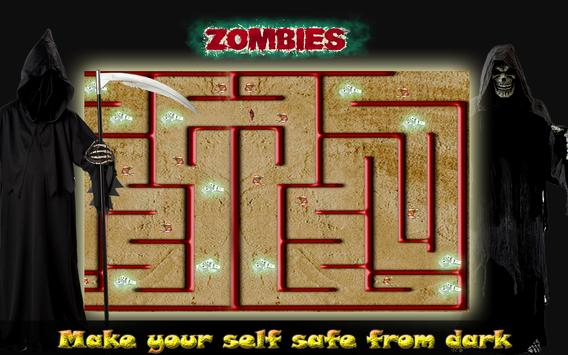 Zombie Maze Runner Escape screenshot 2