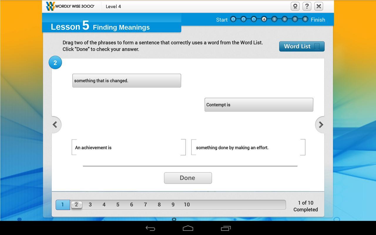 Wordly Wise 3000® Online APK Baixar - Grátis Educação ...