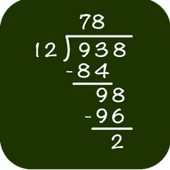 Math: Long Division icon
