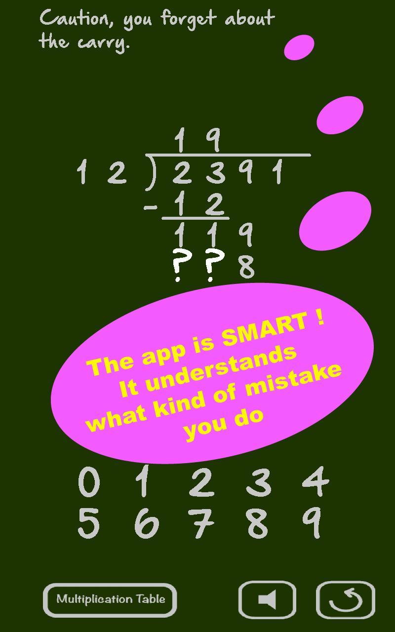 Math homework help long division
