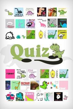 Dinosaur Quiz poster