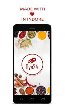 Oye24 - Online Food delivery poster
