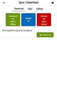 Sapphire by the Gardens apk screenshot