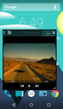 Multi Window Video Player apk screenshot