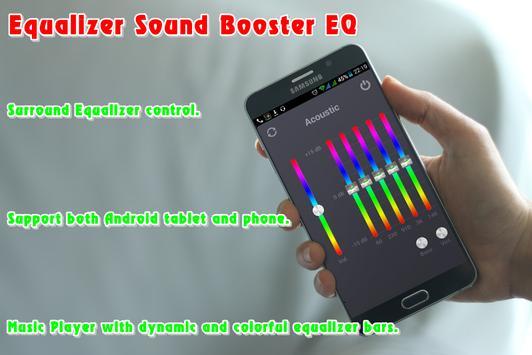 Equalizer Sound Booster EQ poster
